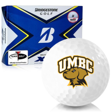 Bridgestone Tour B XS Maryland Baltimore County Retrievers Golf Balls