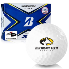 Bridgestone Tour B XS Michigan Tech Huskies Golf Balls