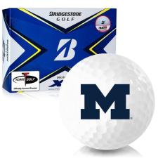 Bridgestone Tour B XS Michigan Wolverines Golf Balls