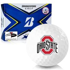 Bridgestone Tour B XS Ohio State Buckeyes Golf Balls