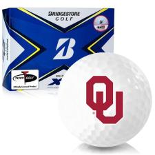 Bridgestone Tour B XS Oklahoma Sooners Golf Balls