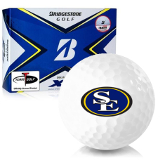 Bridgestone Tour B XS Southeastern Oklahoma State Savage Storm Golf Balls
