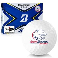 Bridgestone Tour B XS South Alabama Jaguars Golf Balls