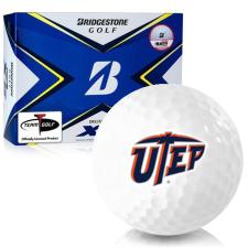 Bridgestone Tour B XS Texas El Paso Miners Golf Balls