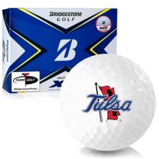 Bridgestone Tour B XS Tulsa Golden Hurricane Golf Balls