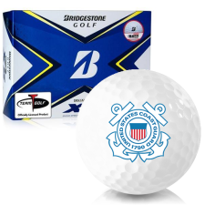 Bridgestone Tour B XS US Coast Guard Golf Balls