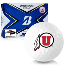 Bridgestone Tour B XS Utah Utes Golf Balls