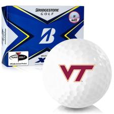 Bridgestone Tour B XS Virginia Tech Hokies Golf Balls