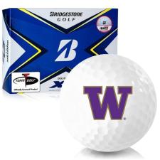 Bridgestone Tour B XS Washington Huskies Golf Balls