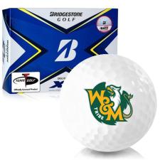 Bridgestone Tour B XS William & Mary Tribe Golf Balls