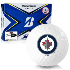 Bridgestone Tour B XS Winnipeg Jets Golf Balls