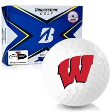 Bridgestone Tour B XS Wisconsin Badgers Golf Balls