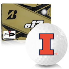 Bridgestone e12 Soft Illinois Fighting Illini Golf Balls