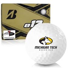 Bridgestone e12 Soft Michigan Tech Huskies Golf Balls