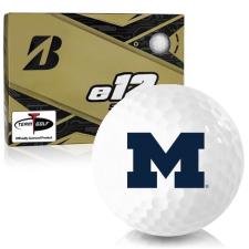 Bridgestone e12 Soft Michigan Wolverines Golf Balls