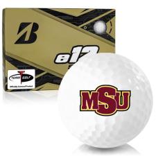 Bridgestone e12 Soft Midwestern State Mustangs Golf Balls