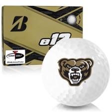 Bridgestone e12 Soft Oakland Golden Grizzlies Golf Balls