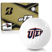 Bridgestone e12 Soft Texas El Paso Miners Golf Balls