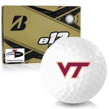 Bridgestone e12 Soft Virginia Tech Hokies Golf Balls