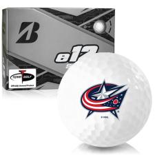 Bridgestone e12 Speed Columbus Blue Jackets Golf Balls