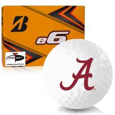 Bridgestone e6 Alabama Crimson Tide Golf Balls