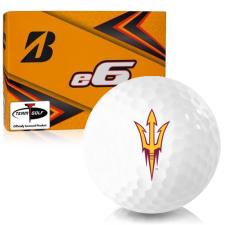 Bridgestone e6 Arizona State Sun Devils Golf Balls