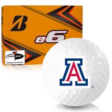 Bridgestone e6 Arizona Wildcats Golf Balls