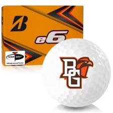 Bridgestone e6 Bowling Green Falcons Golf Balls