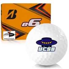 Bridgestone e6 Cal Santa Barbara Gauchos Golf Balls