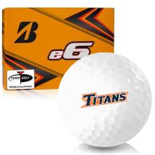 Bridgestone e6 Cal State Fullerton Titans Golf Balls