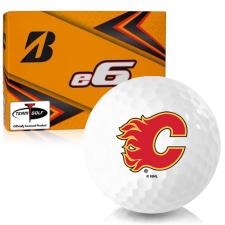 Bridgestone e6 Calgary Flames Golf Balls