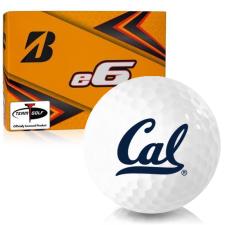 Bridgestone e6 California Golden Bears Golf Balls