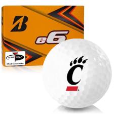 Bridgestone e6 Cincinnati Bearcats Golf Balls