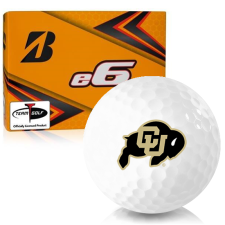 Bridgestone e6 Colorado Buffaloes Golf Balls
