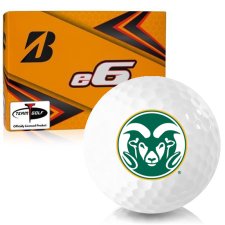Bridgestone e6 Colorado State Rams Golf Balls