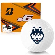 Bridgestone e6 UConn Huskies Golf Balls