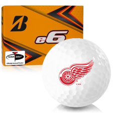 Bridgestone e6 Detroit Red Wings Golf Balls