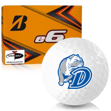 Bridgestone e6 Drake Bulldogs Golf Balls