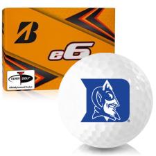 Bridgestone e6 Duke Blue Devils Golf Balls