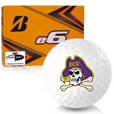Bridgestone e6 East Carolina Pirates Golf Balls