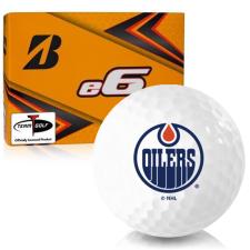 Bridgestone e6 Edmonton Oilers Golf Balls