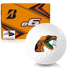 Bridgestone e6 Florida A&M Rattlers Golf Balls
