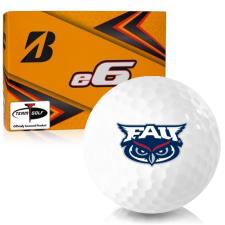 Bridgestone e6 Florida Atlantic Owls Golf Balls