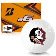 Bridgestone e6 Florida State Seminoles Golf Balls