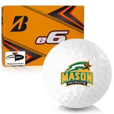 Bridgestone e6 George Mason Patriots Golf Balls