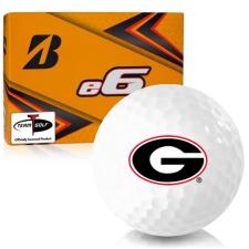 Bridgestone e6 Georgia Bulldogs Golf Balls