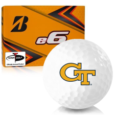 Bridgestone e6 Georgia Tech Golf Balls