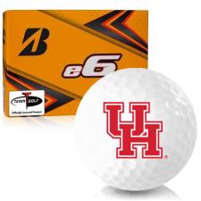 Bridgestone e6 Houston Cougars Golf Balls