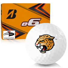 Bridgestone e6 IUPUI Jaguars Golf Balls