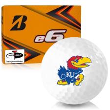 Bridgestone e6 Kansas Jayhawks Golf Balls